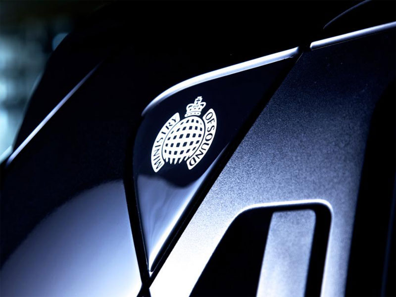 This is where the content on Ministry of Sound would go and the Nissan JUKE